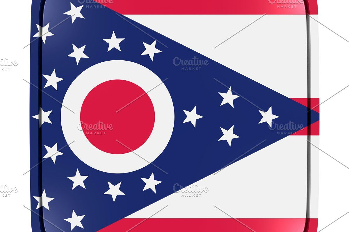 Ohio Flag Icon In 2020 Ohio Flag Flag Icon Flag