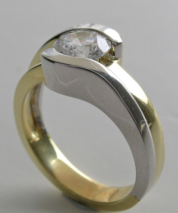 Contemporary Right Hand Diamond Rings