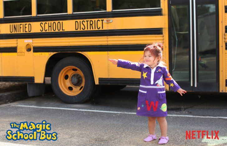 The Magic School Bus Magic school bus, School buses and Halloween - school halloween costume ideas