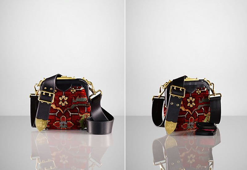 7ce9b37f4889 Ralph Lauren Tapestry Bag Collection Beckons The Bohemian Trend - Pursuitist