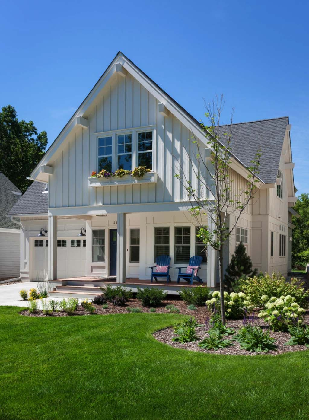 Modern Twist Traditional Cottage Style Home In
