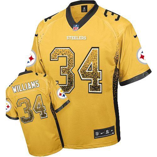 buy online 79638 6a9d9 DeAngelo Williams Men's Elite Gold Jersey: Nike NFL ...
