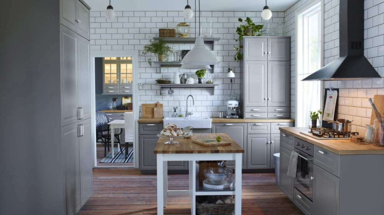 Köket kan vara stilrent, lantligt eller en färgglad energikick ...