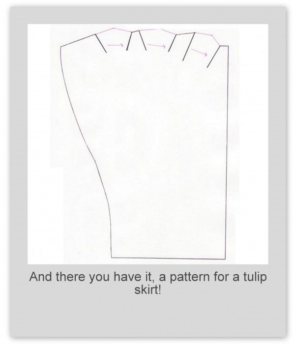 how to make a tulip skirt