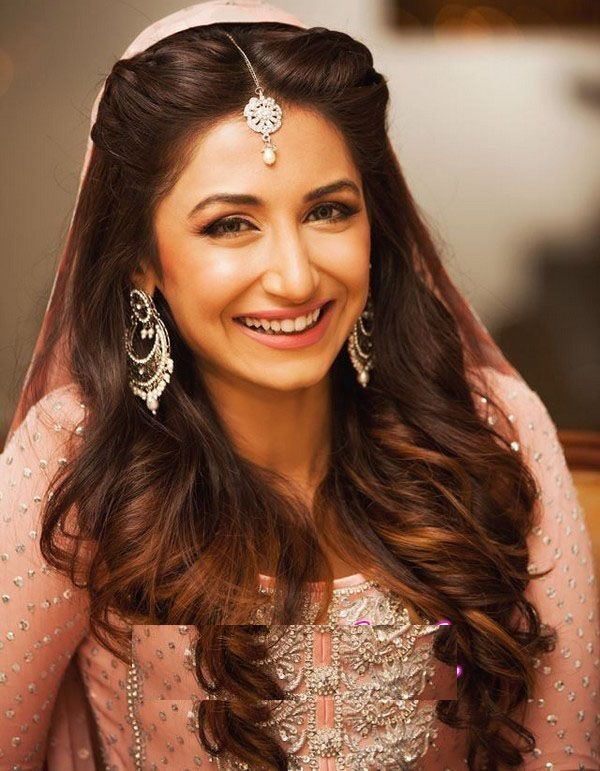 Pakistani Wedding Hairstyles For Long Hair Top Pakistan Indian Hairstyles Hair Styles Indian Wedding Hairstyles