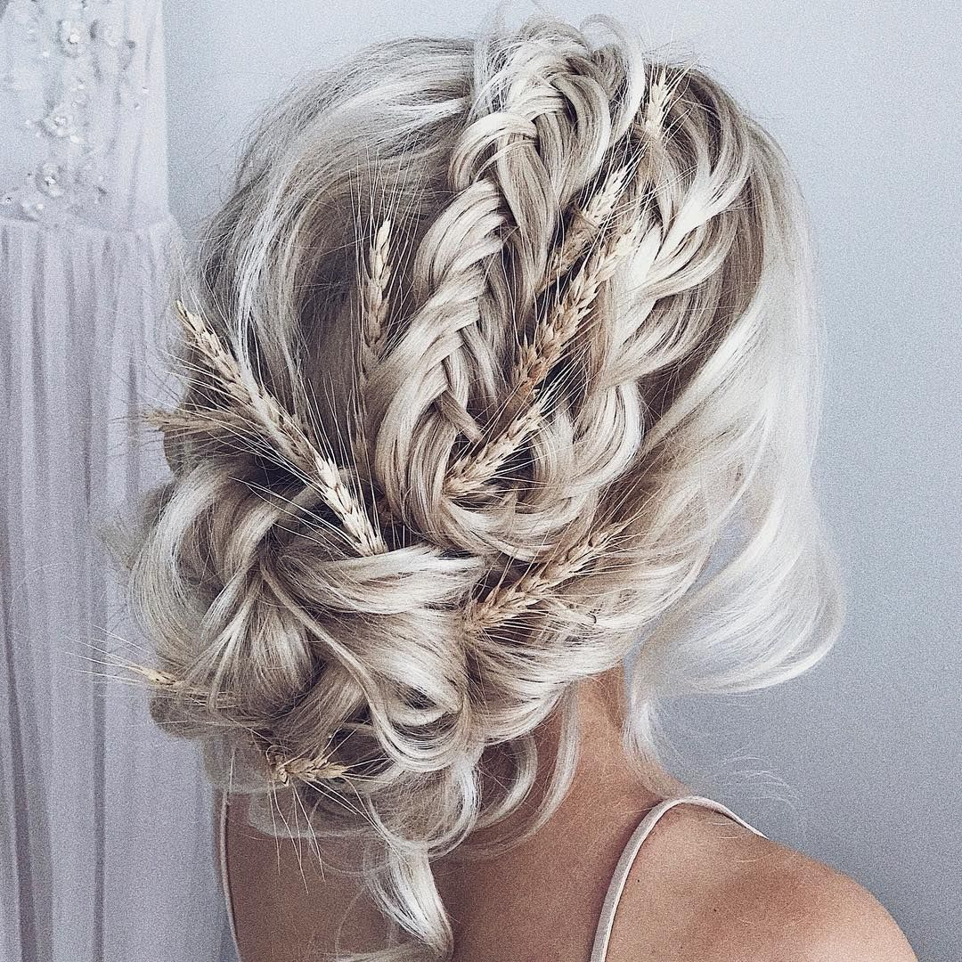 Wedding Hairstyle Knot Me Pretty: 51 Beautiful Bridal Updos Wedding Hairstyles For A