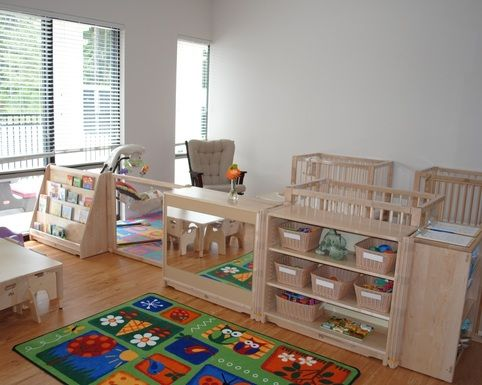 infant classroom with all that lovely Community Playthings furniture ...