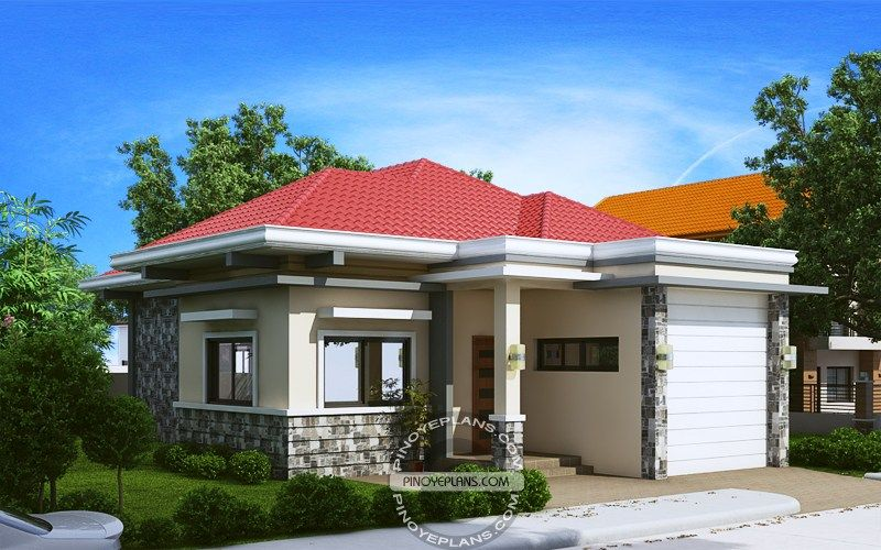 Two Bedroom House Design Pictures Entrancing 2 Bedroom House Plan Perspective  House Of My Dreams  Pinterest Review