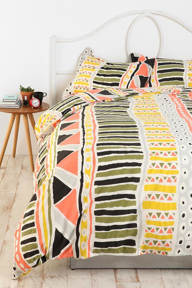 Bauhaus Stripe Duvet Cover  #UrbanOutfitters wannnnnttt.