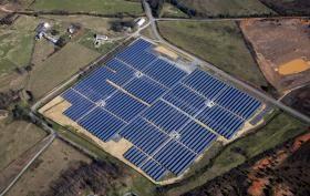 35 Acre Solar Farm Under Construction In Orange County Solar Farm Solar Orange County