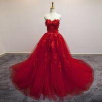 فستان أحمر الكرة ثوب Formal Evening Dresses Gowns Prom Dresses