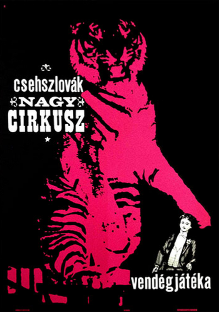 Unknown artist, 1964, Czechoslovakian Grand Circus in Budapest.