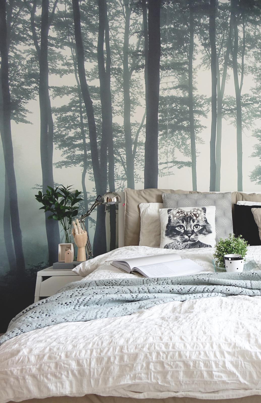 Sea Of Trees Forest Mural Wallpaper Muralswallpaper Forest