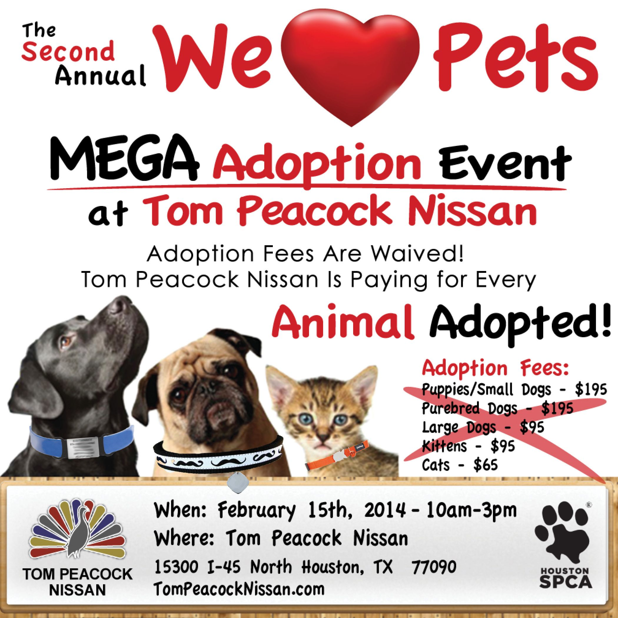 The Second Annual We Love Pets Mobile Adoption Event Takes Place On Saturday Feb 15 From 10 A M Until 3 P M Small Puppies Love Pet Purebred Dogs
