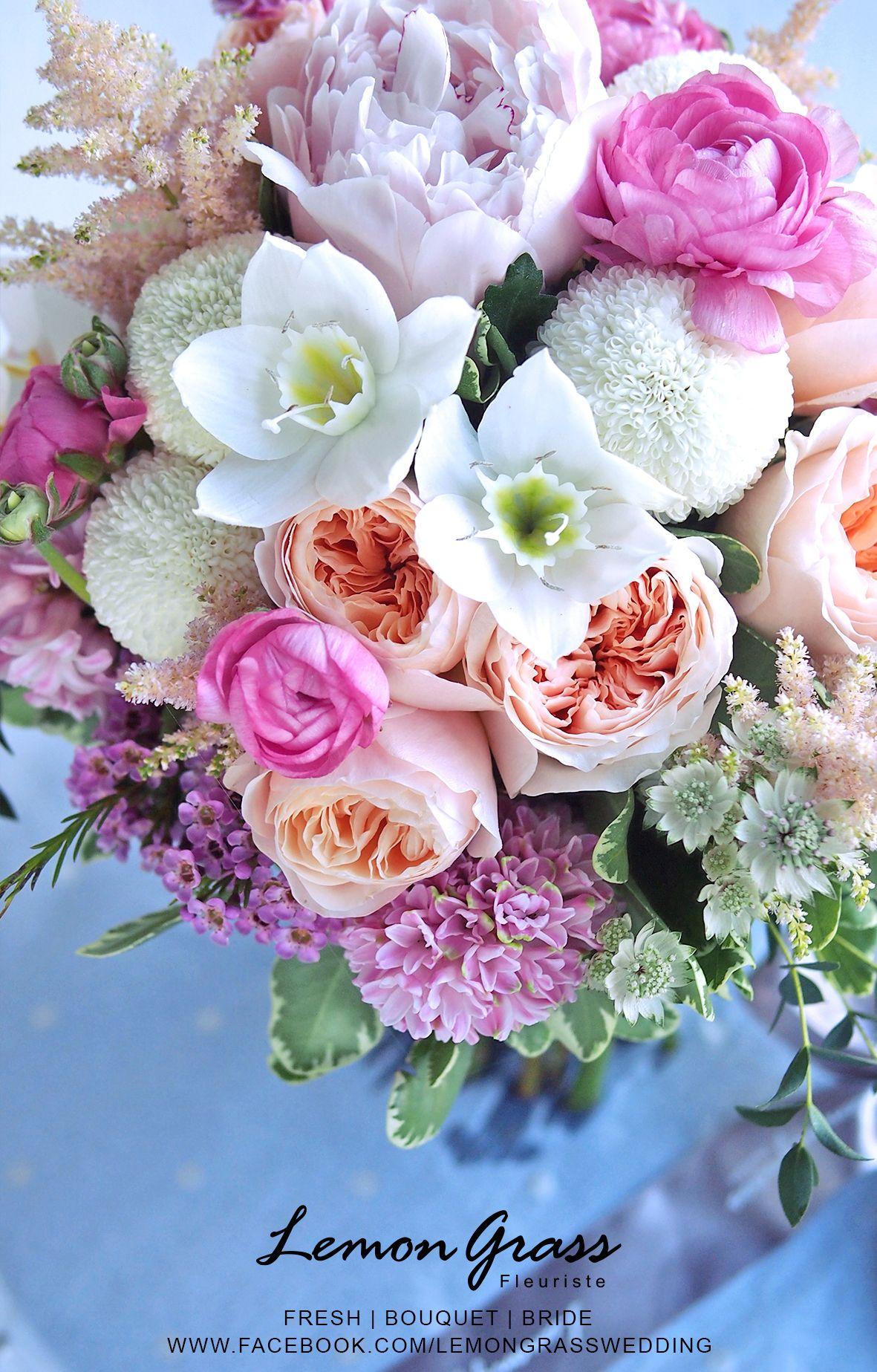 Fresh flowers www.facebook.com/LemongrassWedding #flower #bride ...