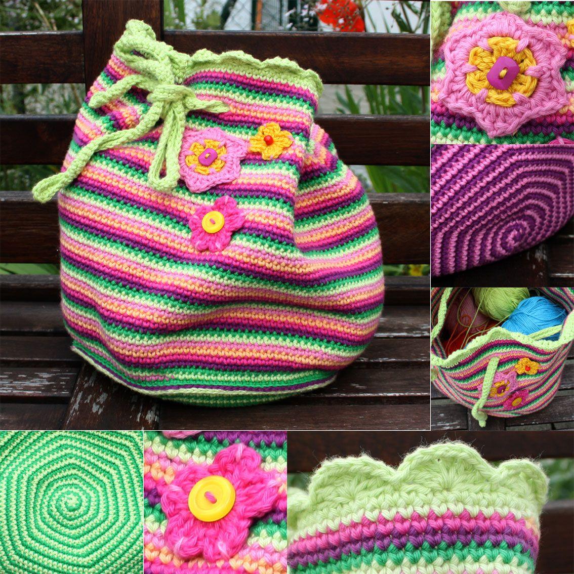 kleine STICHE: häkeltaschen | GENTUTE ILINCA | Pinterest ...
