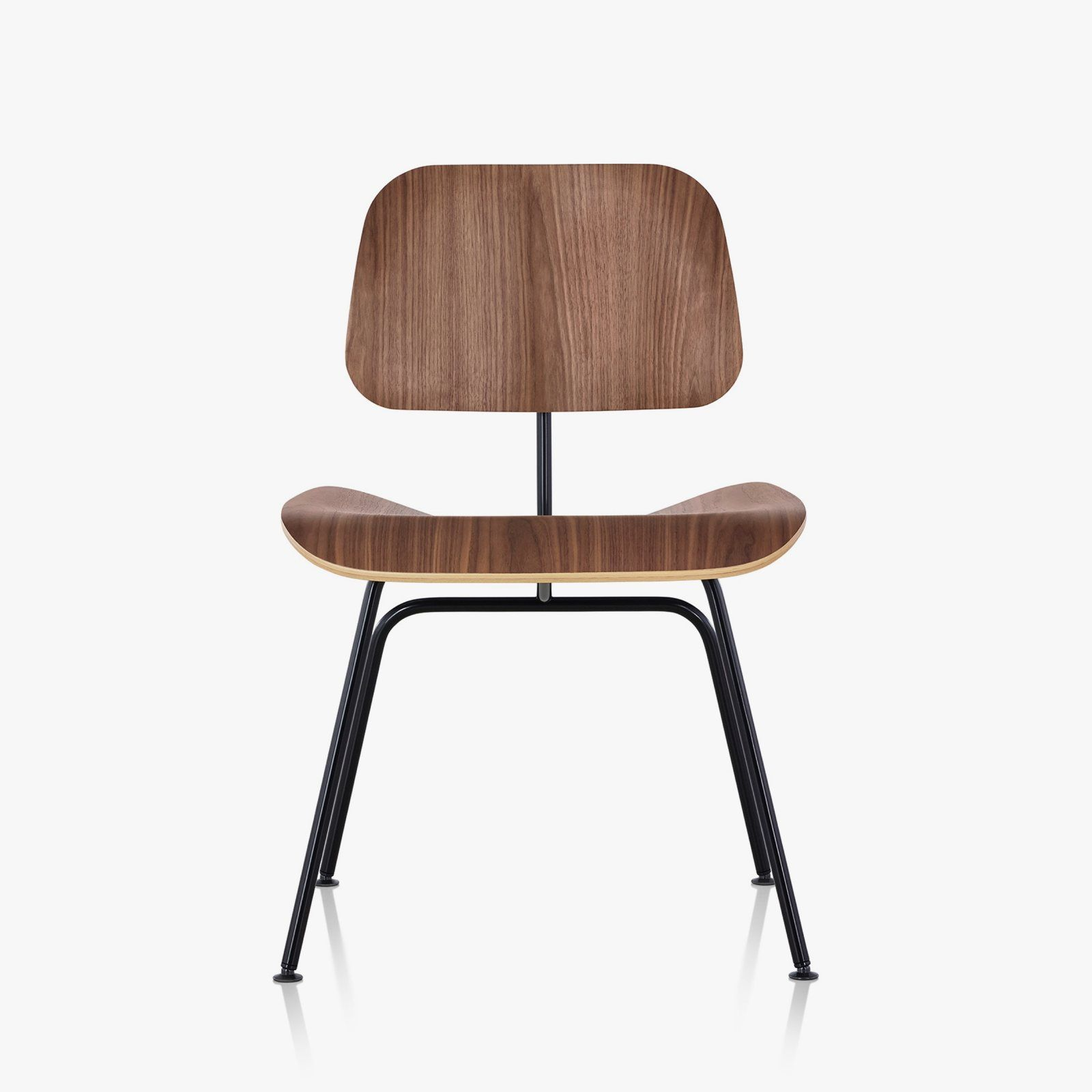Admirable Herman Miller Eames Molded Plywood Dining Chair With Metal Pabps2019 Chair Design Images Pabps2019Com