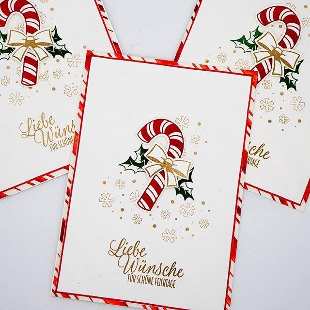zuckersüße weihnachten stampin up #stampinup!cards