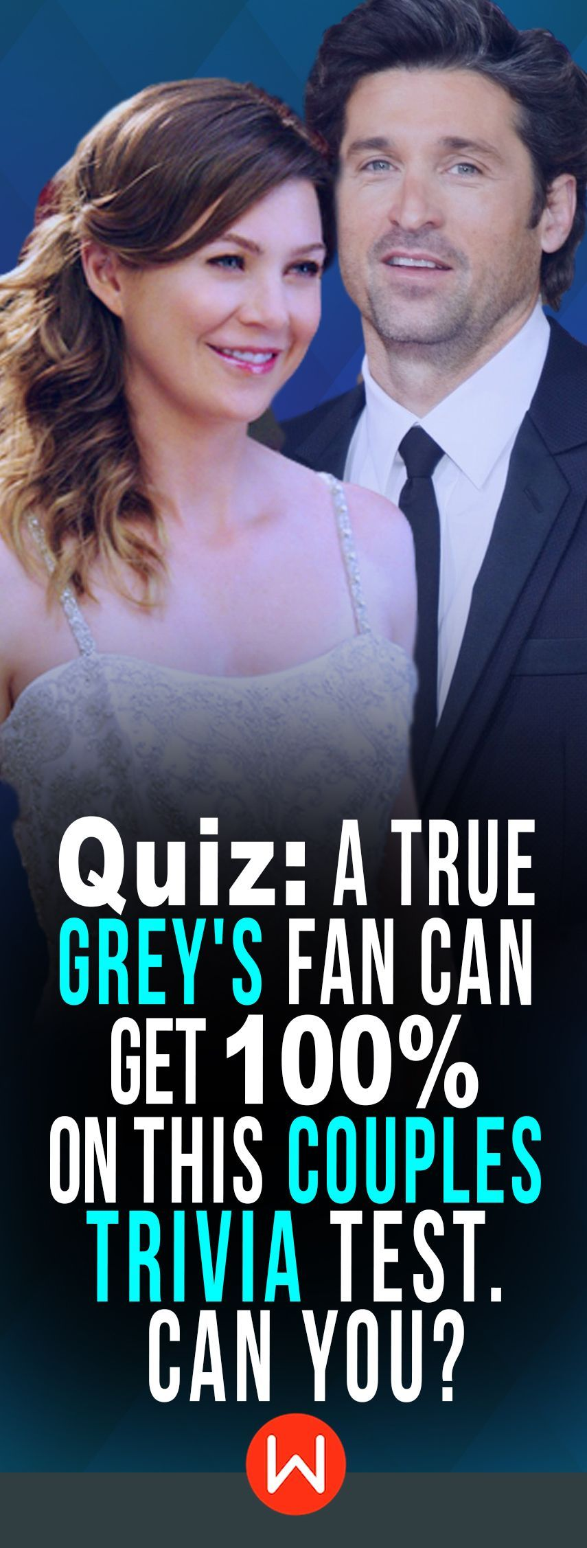 Quiz: A True Grey\'s Fan Can Get 100% On This Couples Trivia Test ...