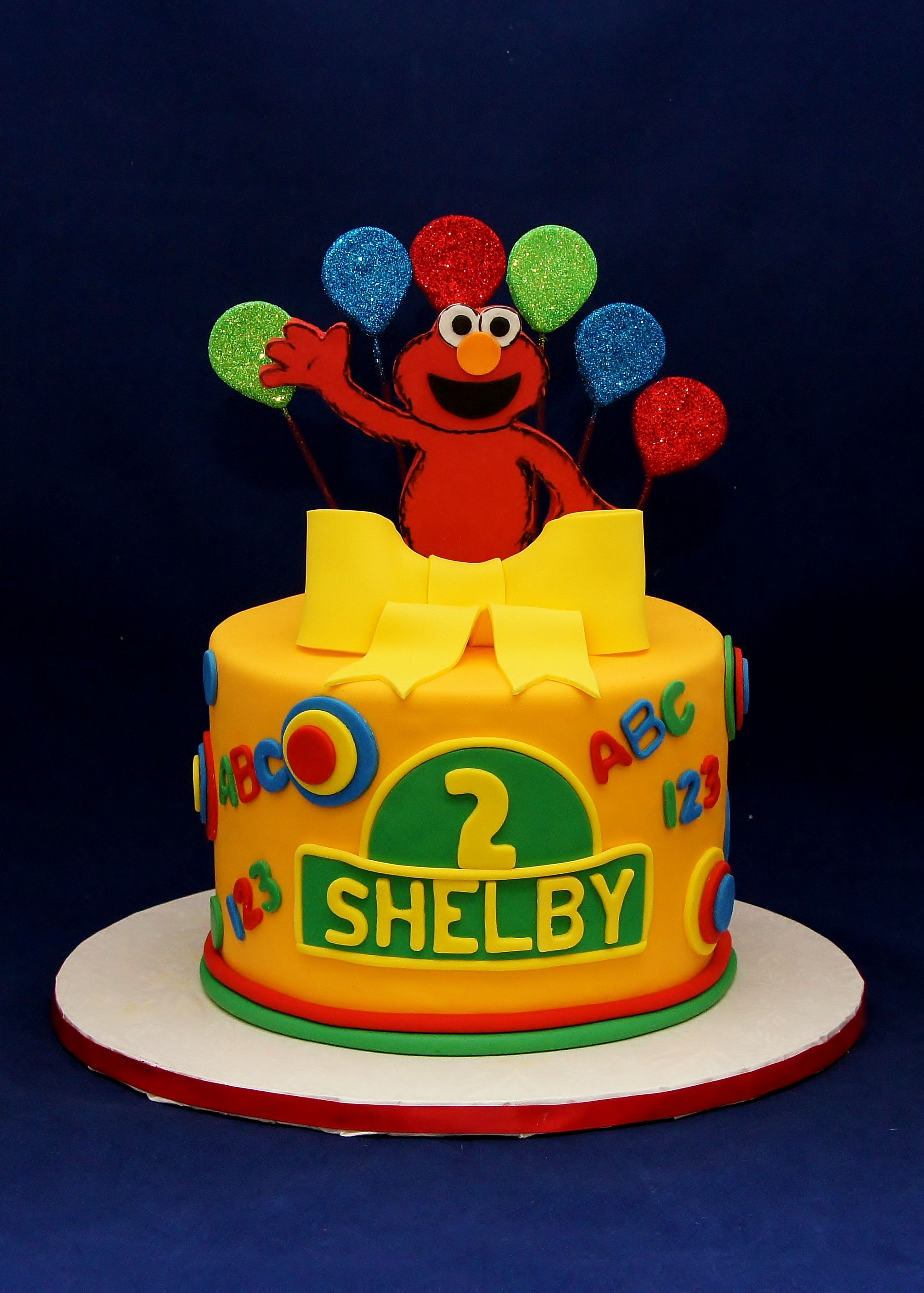 Elmo Surprise Cake For Shelby