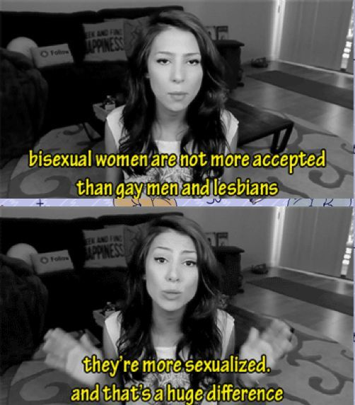 Real bisexual women