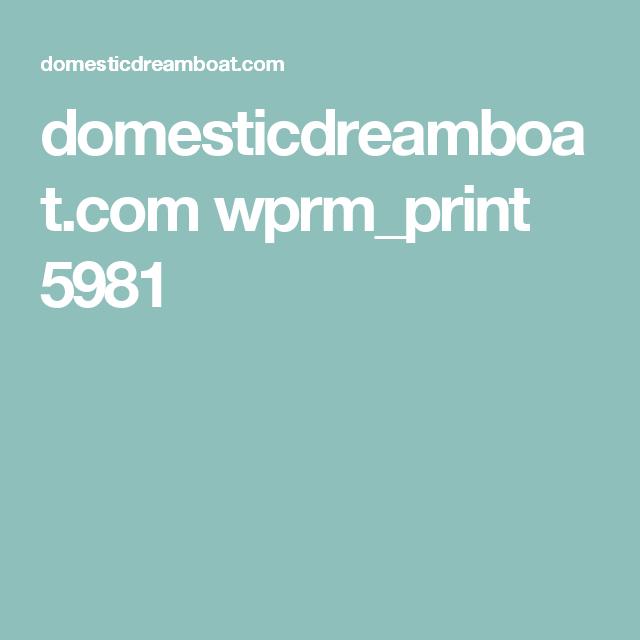 domesticdreamboat.com wprm_print 5981
