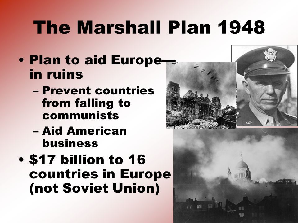 simple essays on the marshall plan of 1948 Marshall Plan