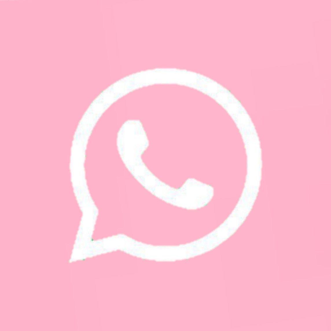Whatsapp Pink In 2020 Iphone App Design Iphone Homescreen Wallpaper Wallpaper App