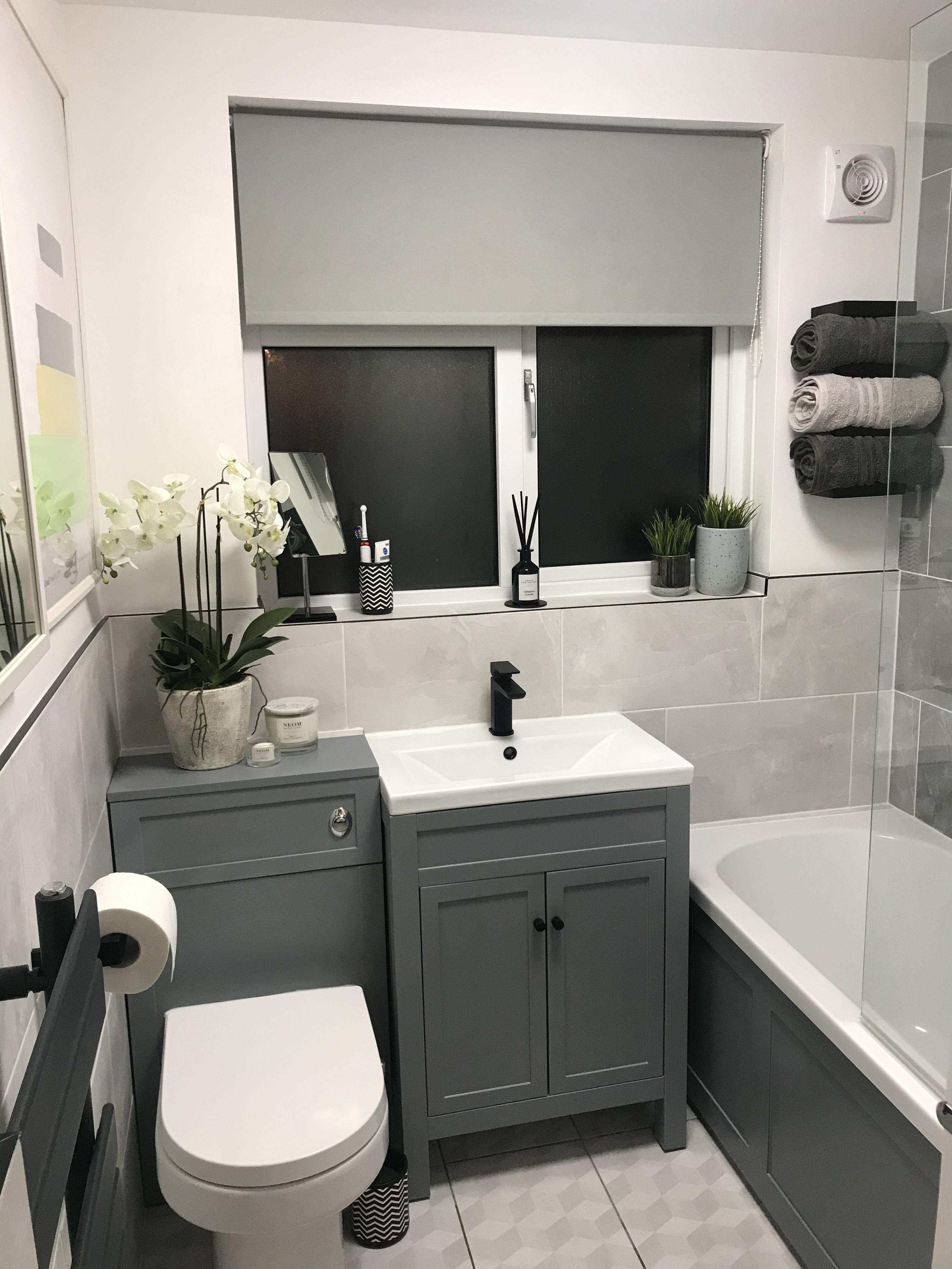Grey Bathroom Inspo Black Bathroom Decor Gray Bathroom Decor Grey Bathrooms Grey decor for bathroom