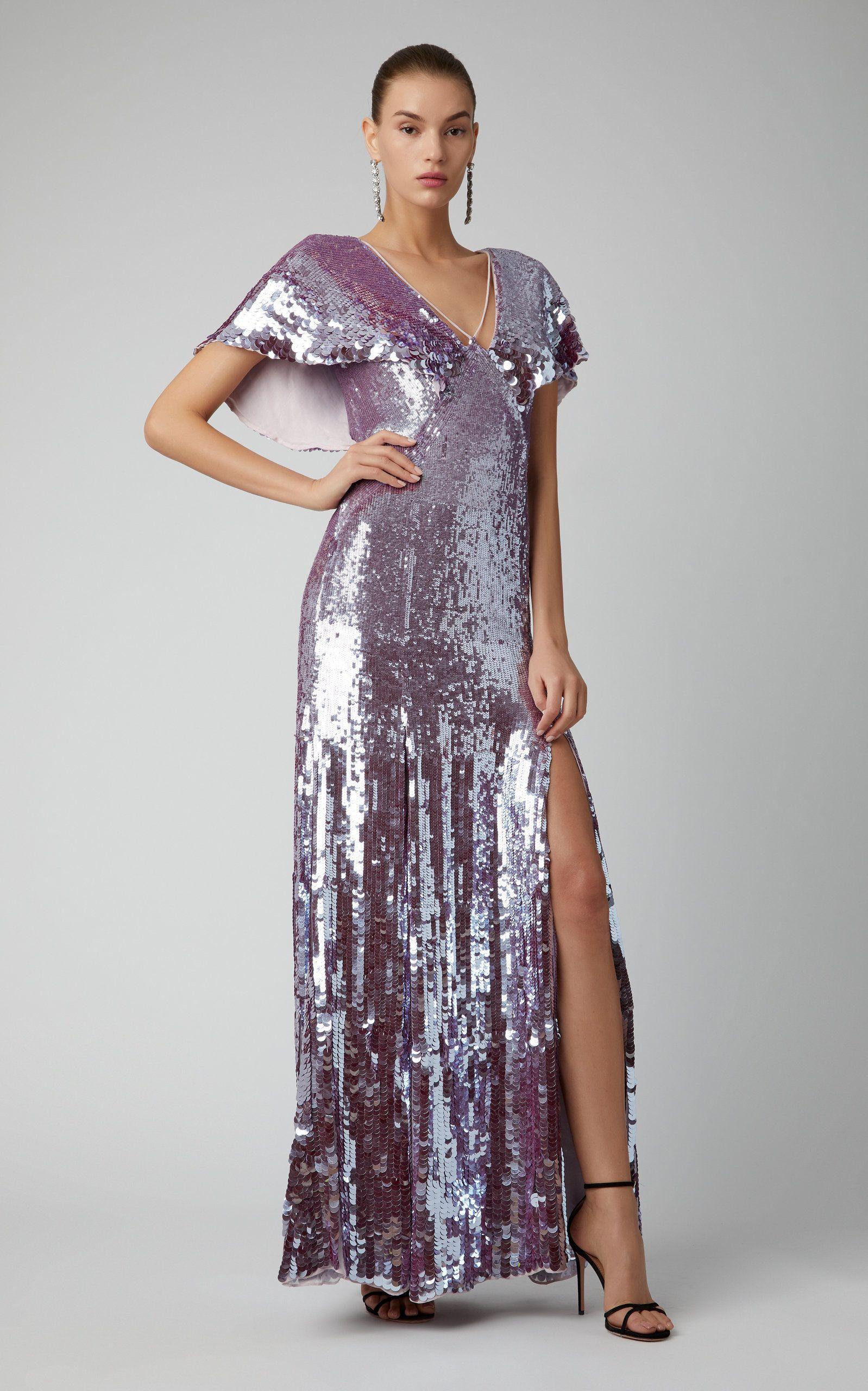 4d80ba200b7c Temperley London Exclusive Bardot Sequin Maxi Dress in 2019 ...