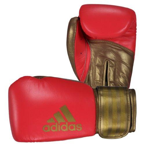 1dcfcbd7c Adidas Hybrid 200 Boxing Glove - Red-Gold - 16 oz.