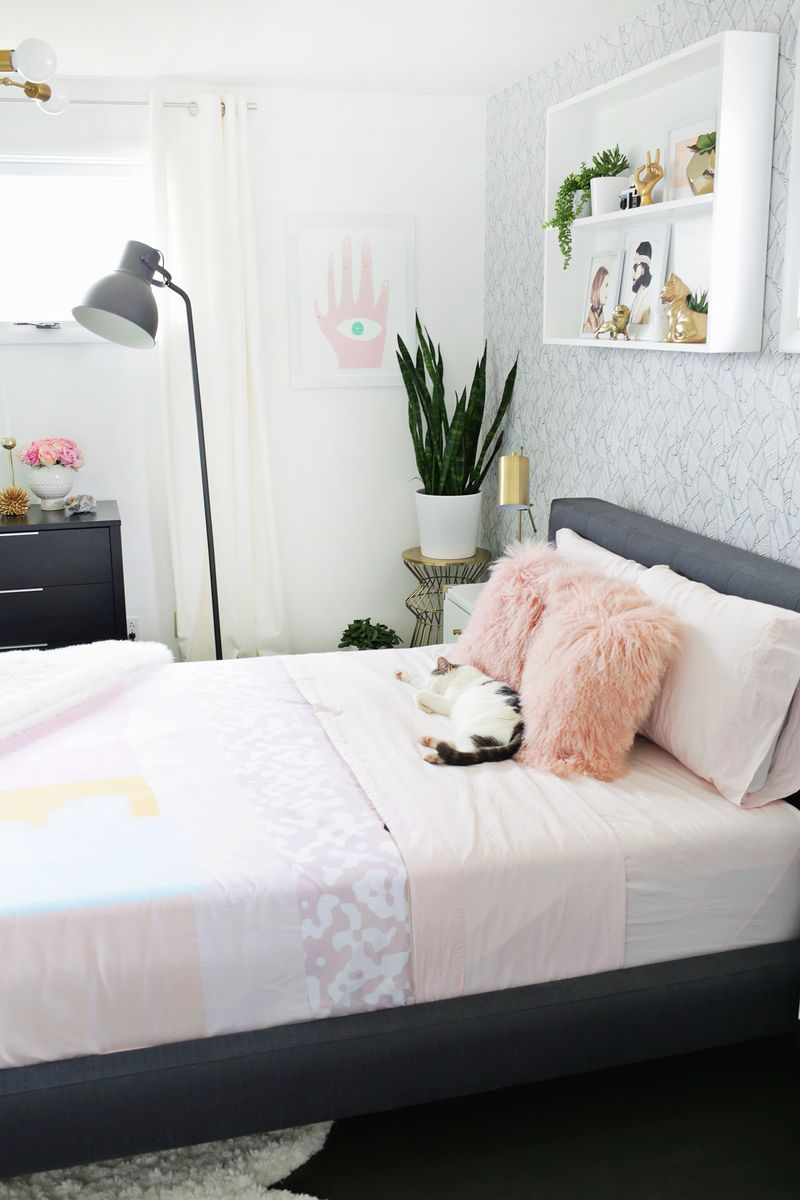 Mitte jahrhundert kinderzimmer lauraus bedroom before  after in   bedroom  pinterest  zuhause