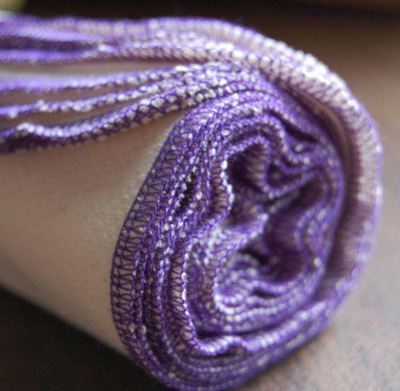 13 ORGANIC BirdE Towels  purple thread  eco by AthenaCreates, $18.00 GOTTA GET MORE!!