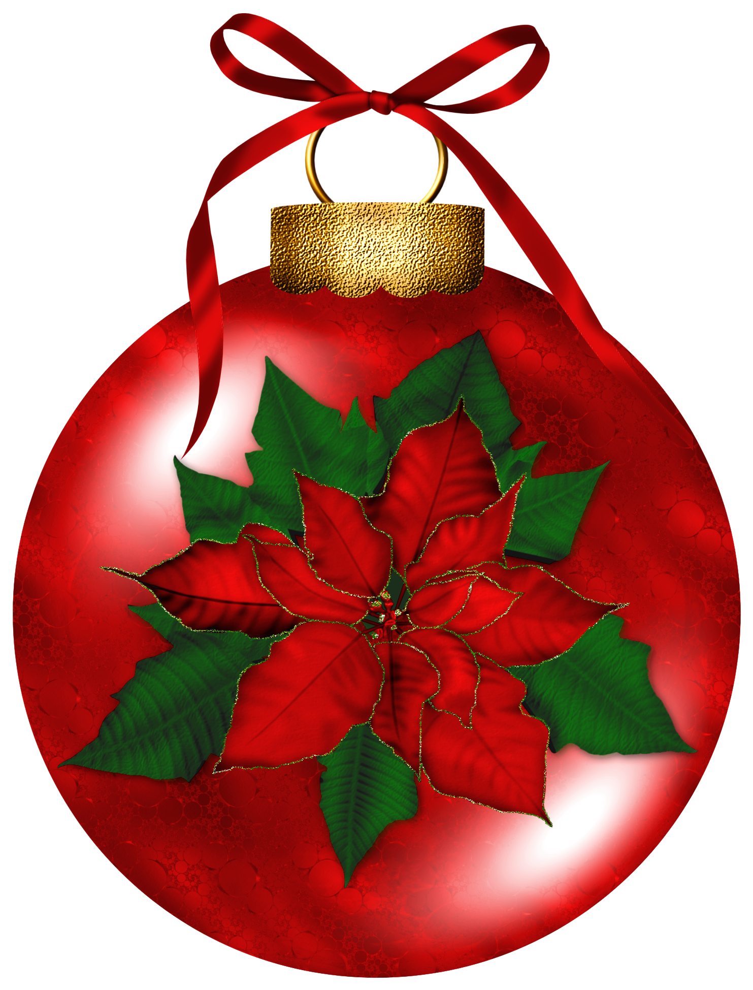 Poinsettia ClipArt Best BOwTeaque ♡ Red Christmas