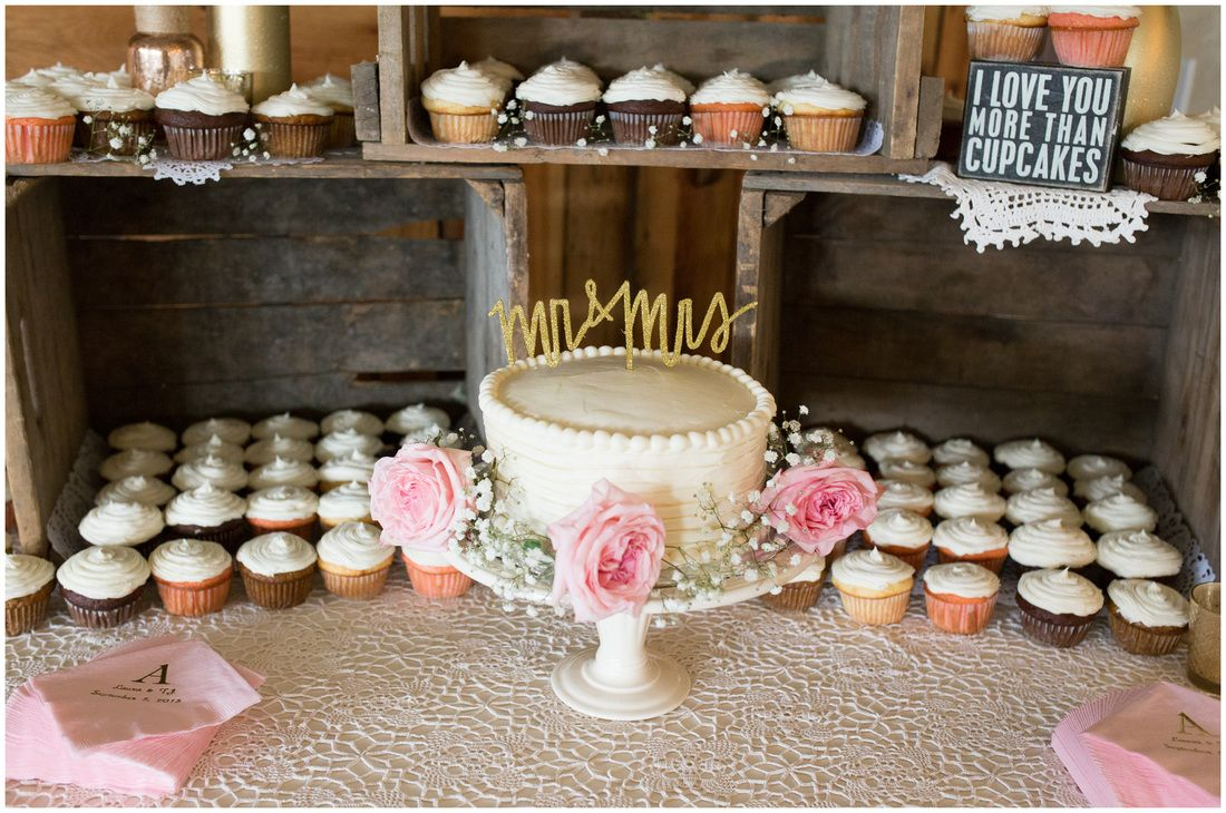 Rustic Cake Table Wooden Crate Cake Table Wedding