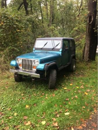 1992 Jeep Wrangler Yj Parts Everything Jeep Jeep Wrangler Yj