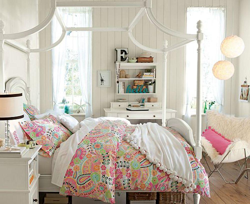 Small Bedroom Ideas Girl Part - 26: Teenage Girl Room Decorating Ideas For Small Rooms . Ideas Girls Room Girls  Mature Bedroom