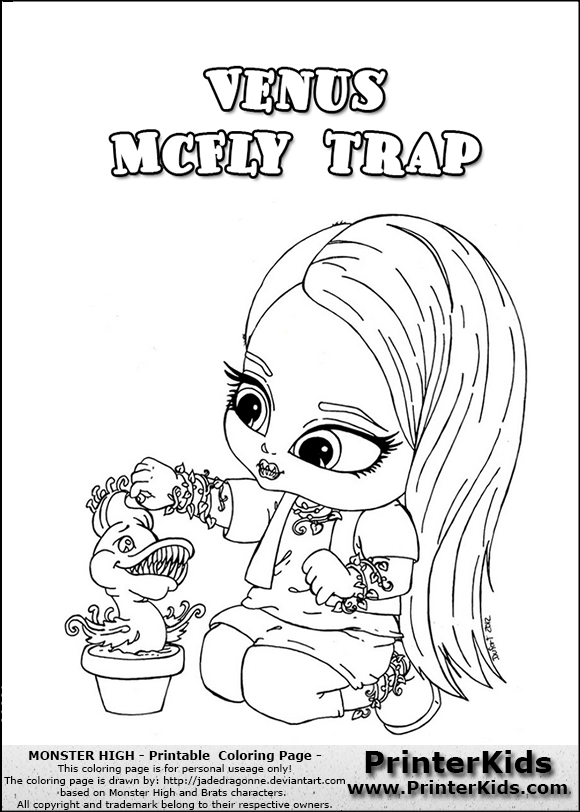 Monster High Pets Coloring Pages | here printerkids monster high ...