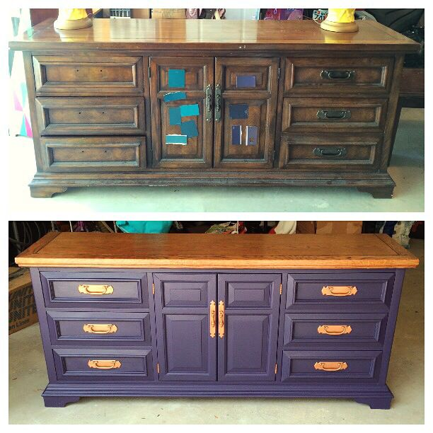 Rural English dresser by Dixie. Salvation Army find reimagined and refinished by yours truly! #homestagingavantapres