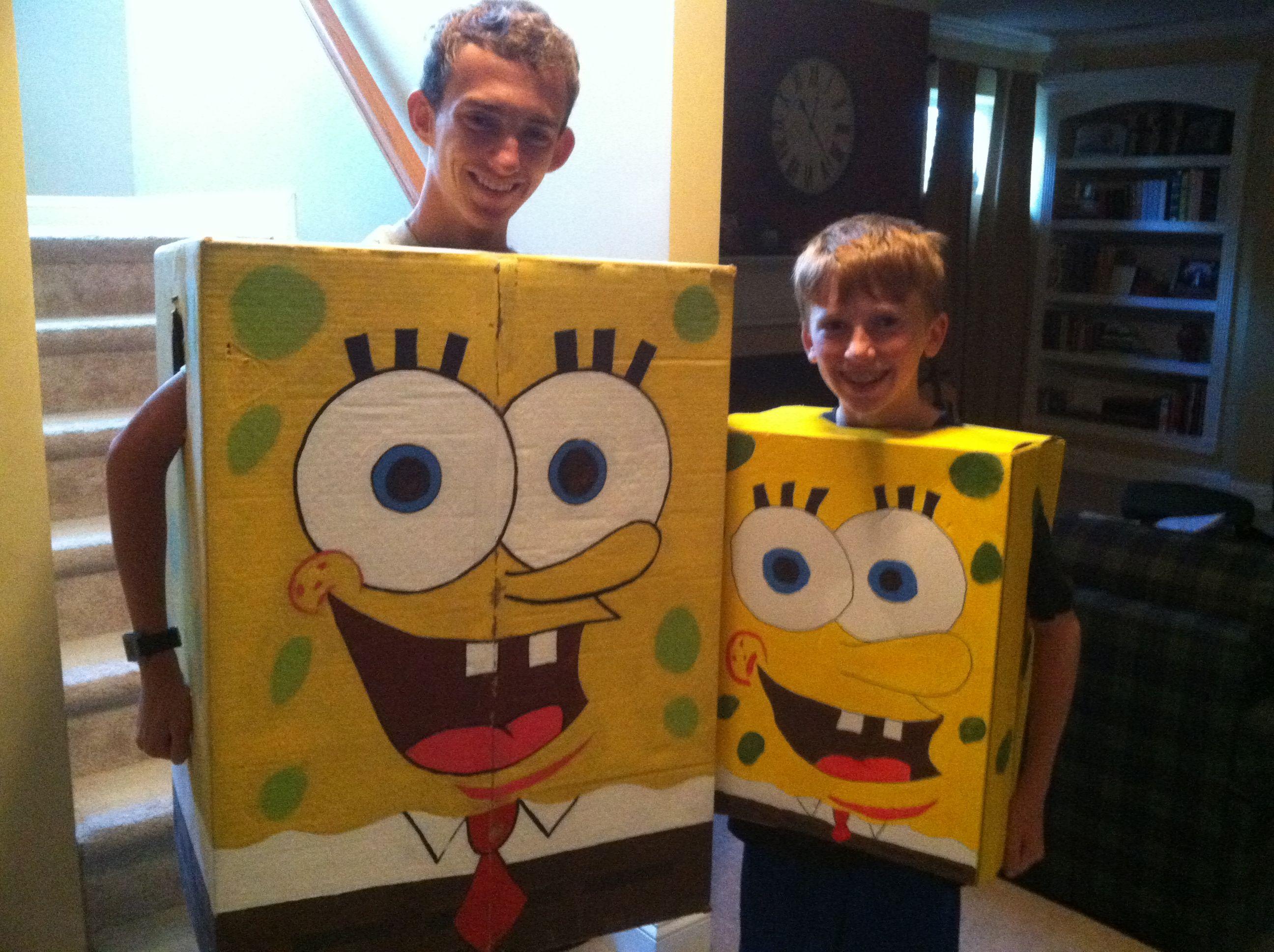 homemade spongebob halloween costumes