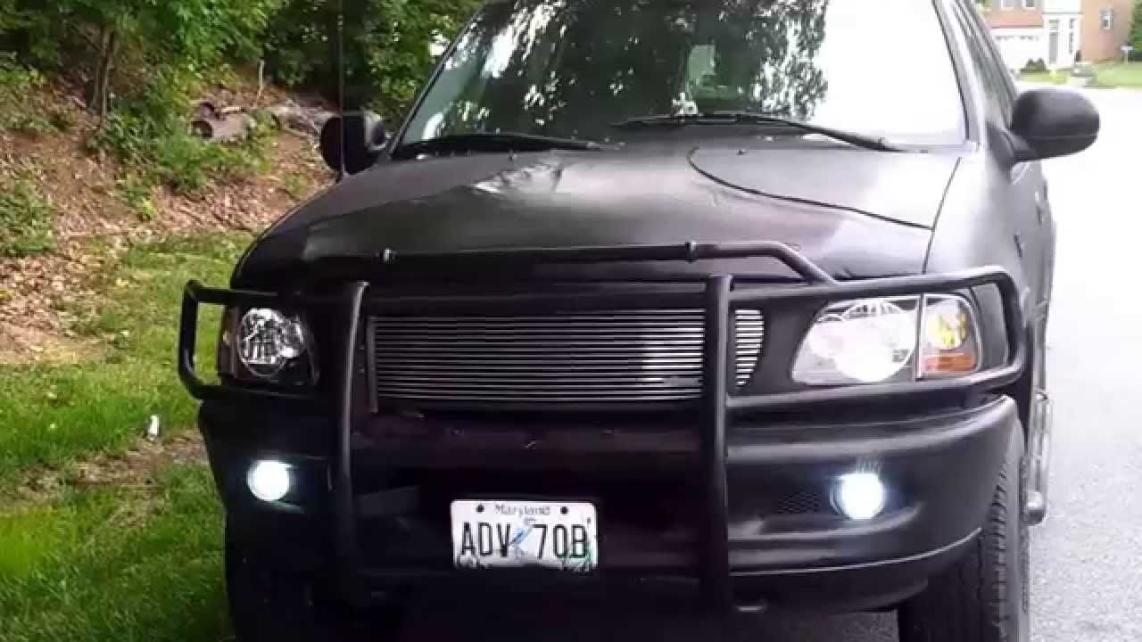 98 ford expedition flat black with a new look