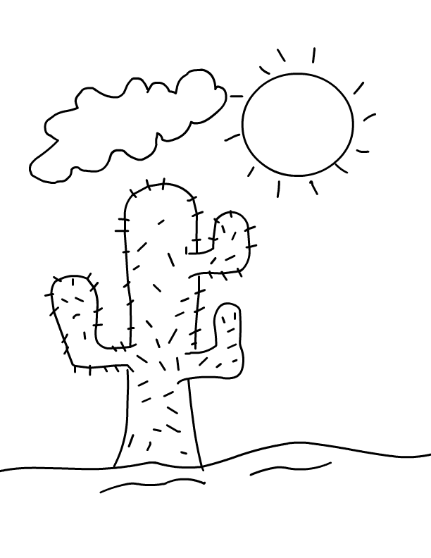 Desert Coloring Pages Best Coloring Pages For Kids Summer Coloring Pages Coloring Pages Coloring Pages For Kids