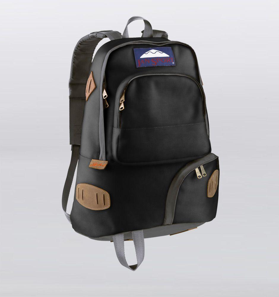 JanSport Kegger Heritage Backpack - Black Rushfaster.com.au ...