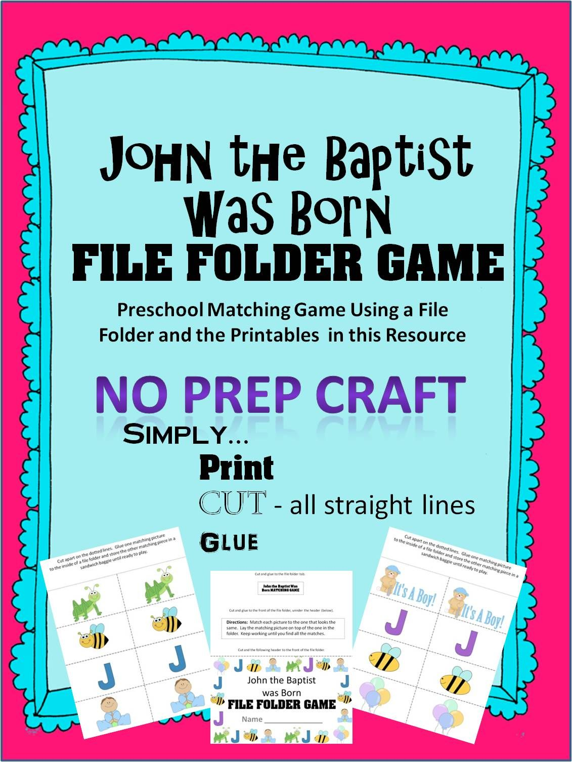 Bible Crafts For John The Baptist In With Images
