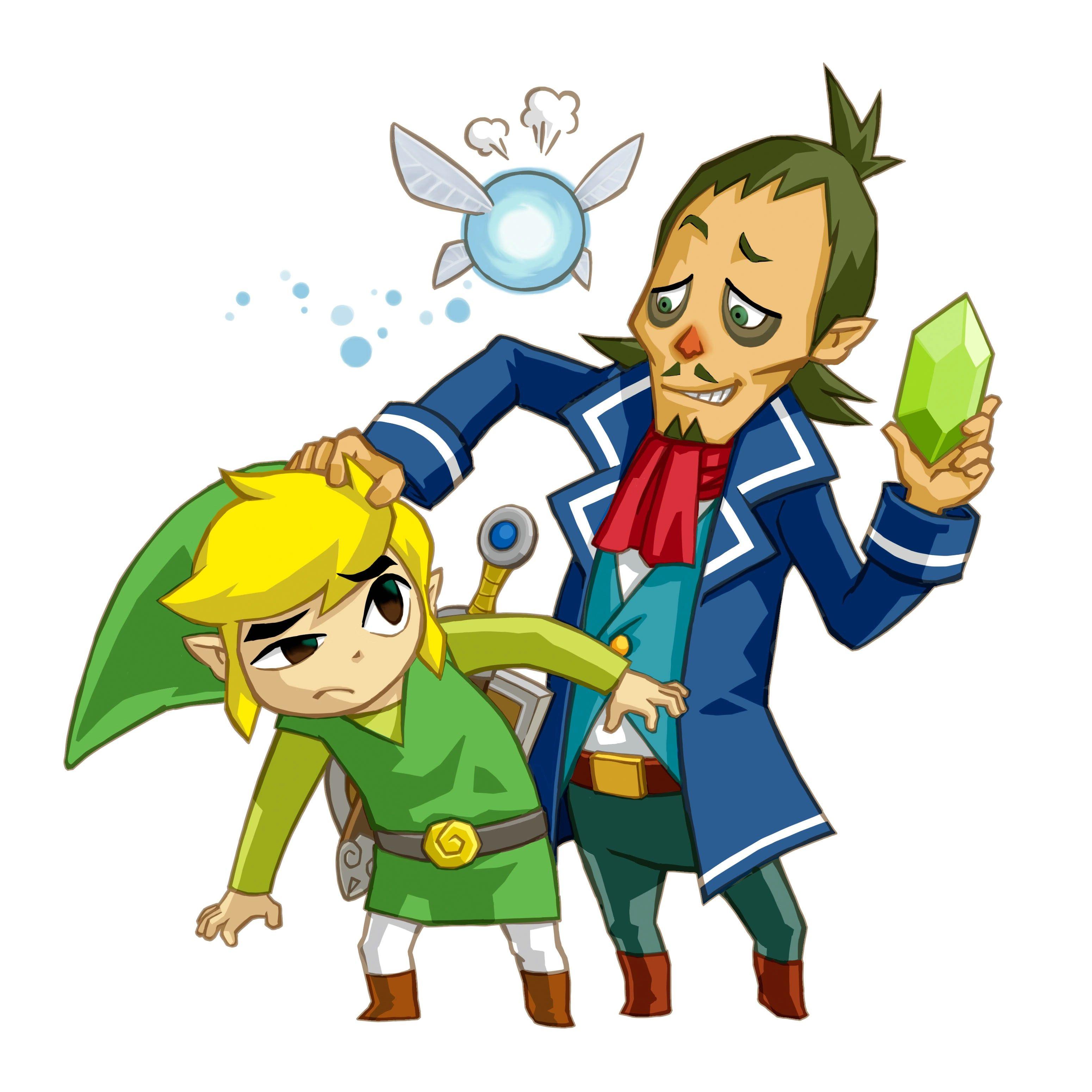 The Legend of Zelda: Phantom Hourglass, Toon Link and Captain Linebeck    Legend of zelda, Legend, Zelda art