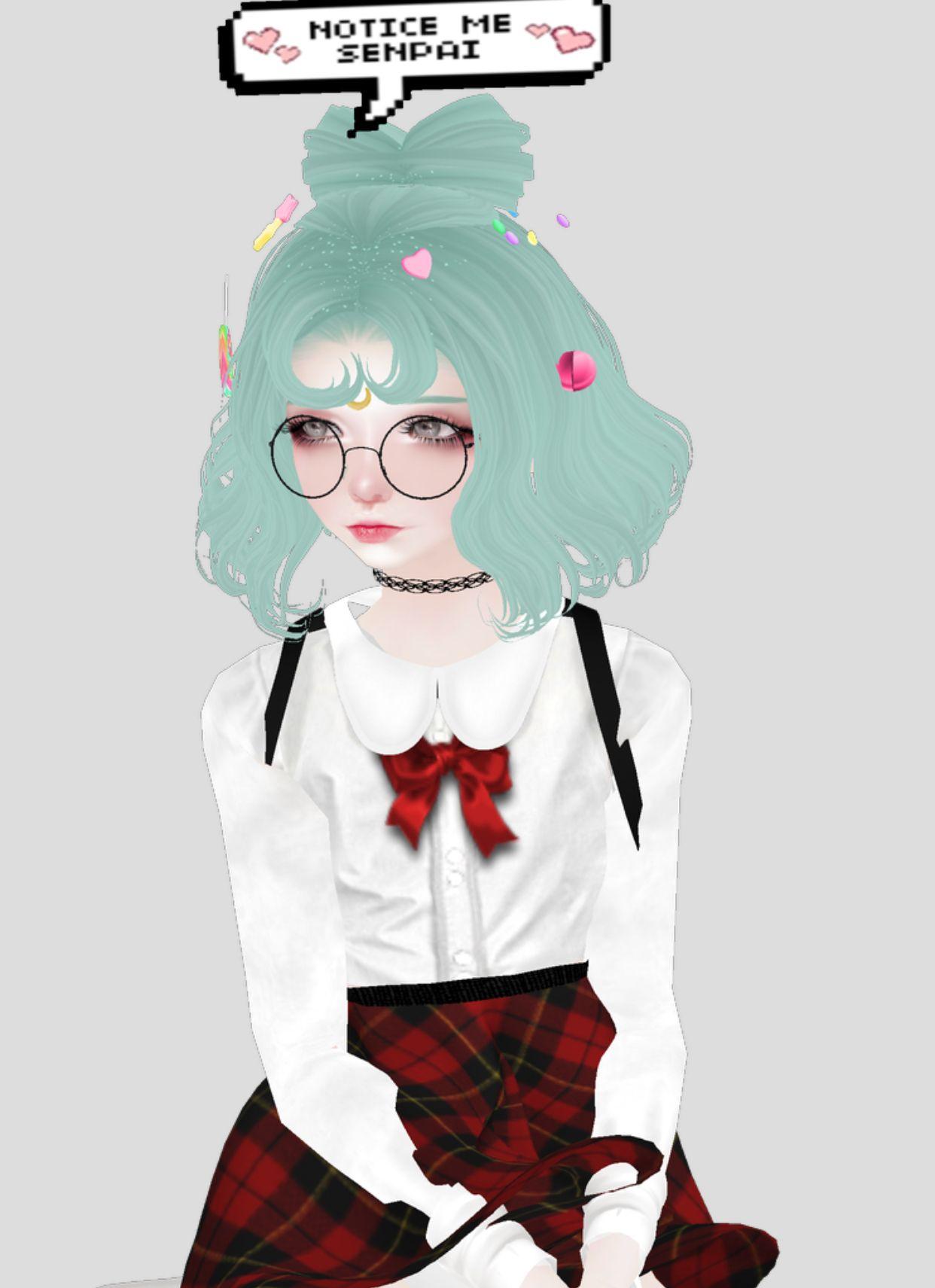 Pin by Rebecca Hopple on design stuff Kawaii anime girl
