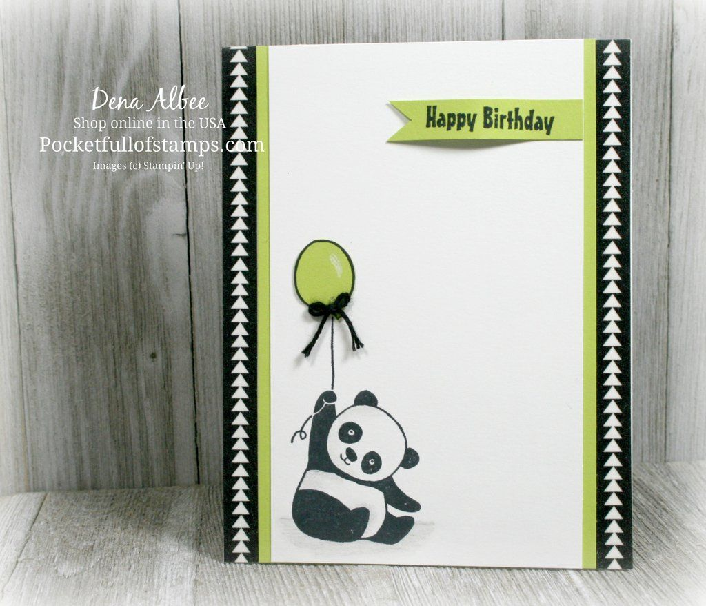 Sneak Peek of the new Sale-A-Bration set Party Panda for this week's #116 Global Design Project challenge.  You can earn this set FREE starting January 3rd!