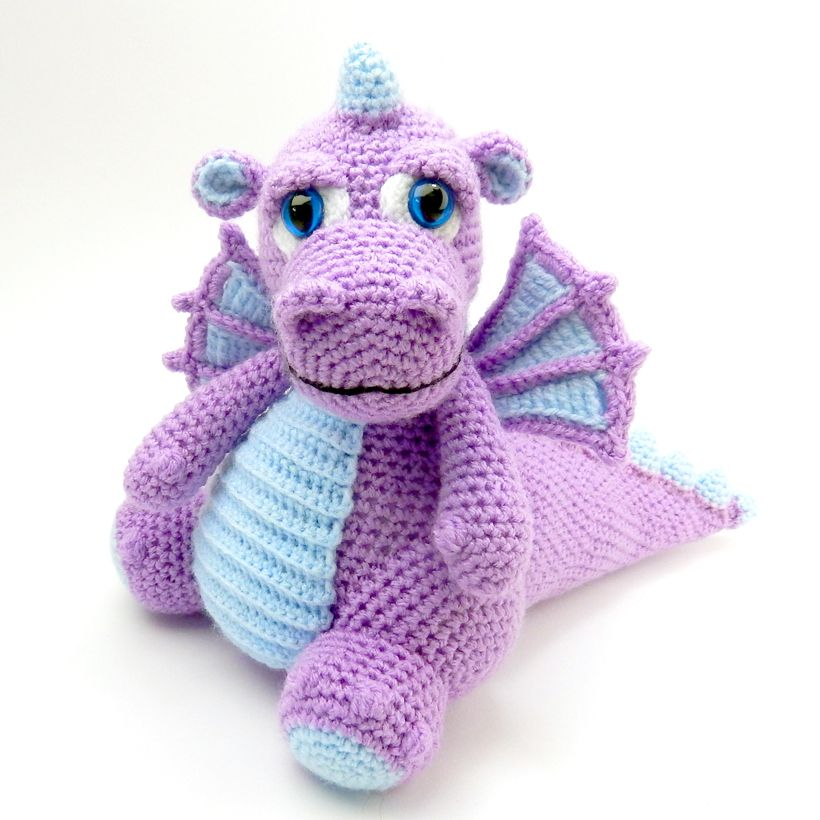 Original Amigurumi Crochet Patterns | Dragons | Pinterest | Drachen ...