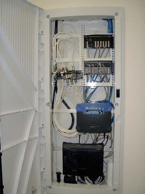 structured wiring advice home theater forum and systems rh pinterest ie Home Network Wiring Closet Residential Wiring Closet