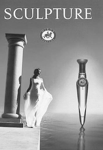 perfume sculpture mujer